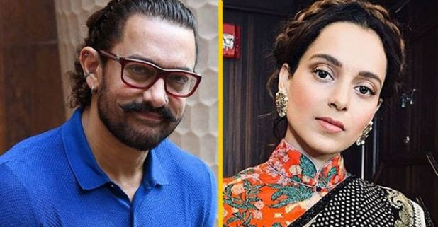 Kangana Ranaut makes a donation of Rs 1 lakh to Aamir's Paani foundation; urge others to help farmers too