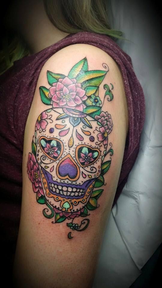 Tattoo Calavera Mexicana Gattoostudio