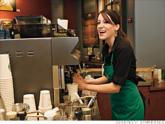 Starbucks - Best Companies to Work For 2012 - Fortune