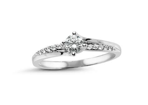 GLACIER FIRE CANADIAN DIAMOND .29CTW ENGAGEMENT RING