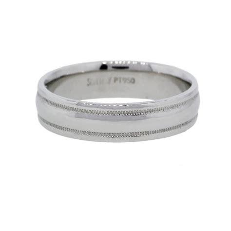 Scott Kay Platinum Mens Wedding Band Ring   Raymond Lee