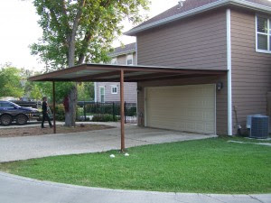 Alamo Heights Attached Carport - Carport Patio Covers ...