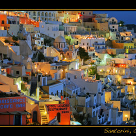 Santorini by Lars R. (b80399) on 500px.com