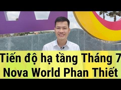 Thổ địa cập nhật tiến độ hạ tầng Nova World Phan Thiết tháng 7 -2021