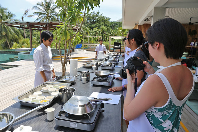 Cooking classes are hands on at the Montigo Resort