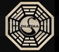 Logo of the mysterious Dharma initiative in Lost