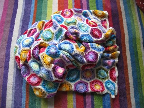 Hexagon blanket
