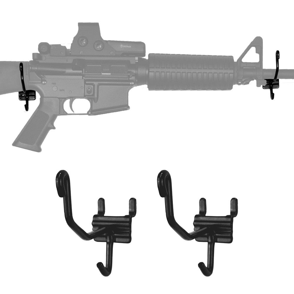 Gun Cradles Wall Gun Display Hooks Long Gun Hangers Gun Storage
