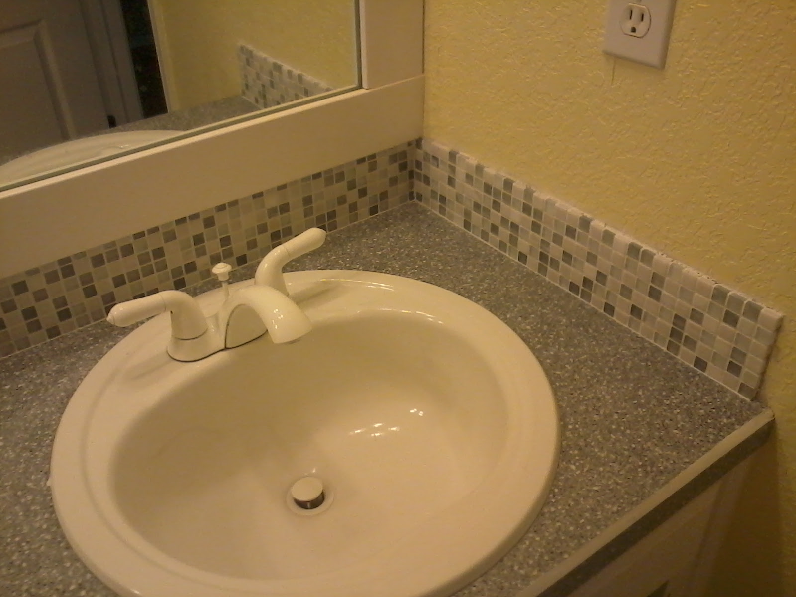 mosaic tile for bathroom backsplash | Simply Rooms (by design)