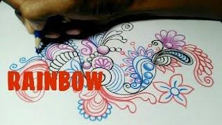 Cara Mewarnai Batik Dengan Pensil Warna