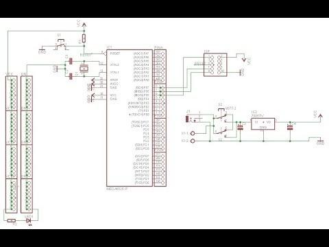 Video Membuat Skematik Sistem Minimum ATmega8535 di Software Eagle #1