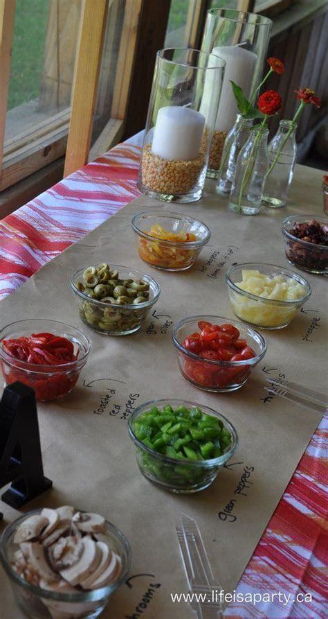 Best 25  Buffet pizza ideas on Pinterest   Pizza bar party