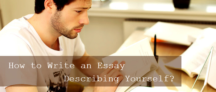 how to write an essay about your self id