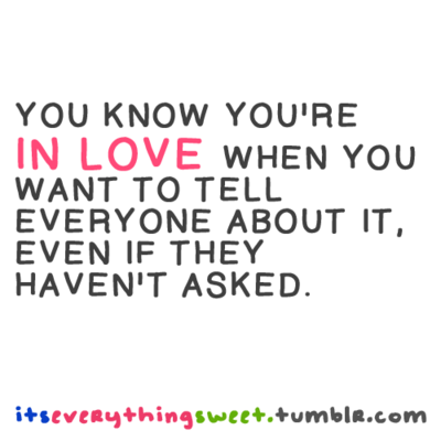 Quotes About Knowing Youre In Love 27 Quotes