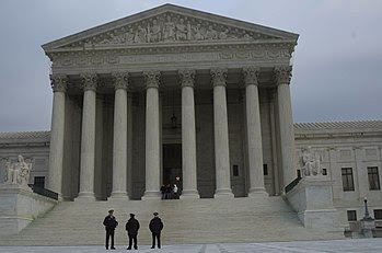 West Facade of the United States Supreme Court...