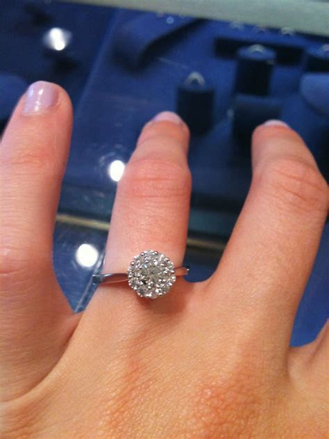 I found my favorite engagement ring ever. Hearts on Fire