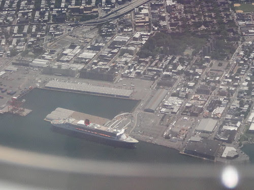 QM 2 from the air