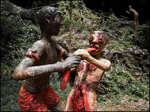 Vision of Hell at Wat Thamtapan