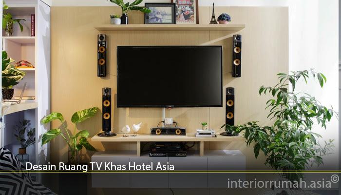 Ruang Tv Sederhana Tanpa Sofa Interior Rumah