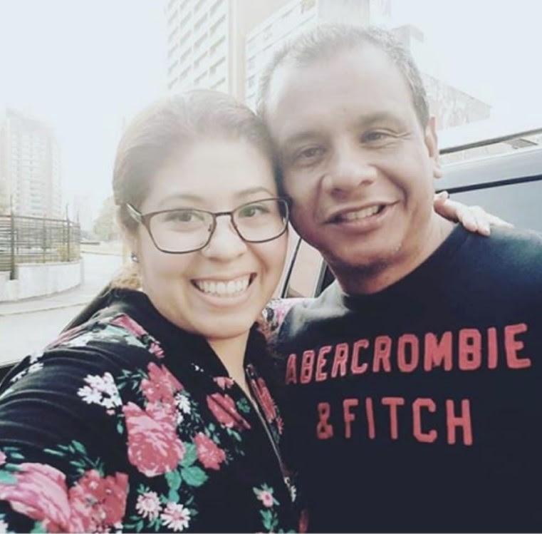 Detsy María Parra (asistente de Kauffman detenida) y Juan Bracamonte