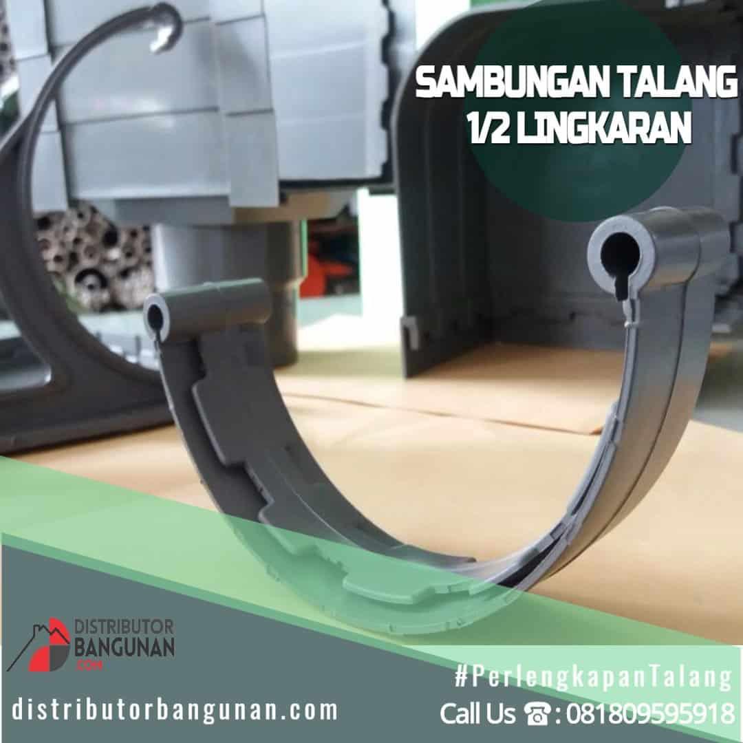 Sambungan Talang 1 2 Lingkaran Distributor Pipa PVC