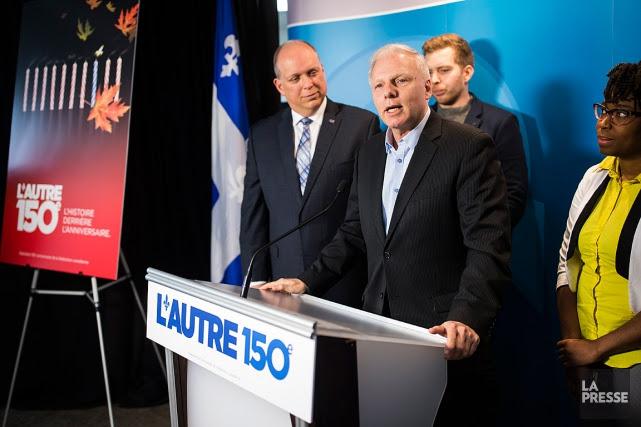 Jean-François Lisées'est présenté à la presse, à Montréal,... (PHOTO EDOUARD PLANTE-FRÉCHETTE, LA PRESSE)