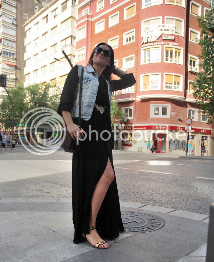 Black Maxi Dress 3