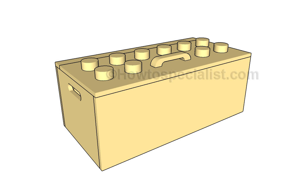 Build Wooden Toy Box Plans Woodworking For Hobby