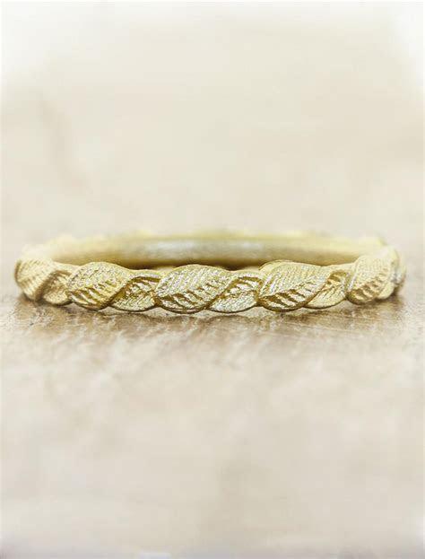 Briar: Gold Overlapping Leaf Ring   Ken & Dana Design