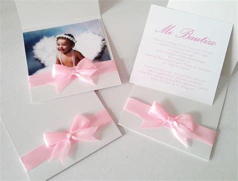 Invitaciones para bautizo de niña   bautizo   Pinterest