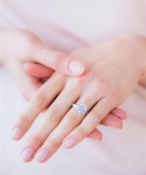 View Full Gallery of New Polish Wedding Ring Finger