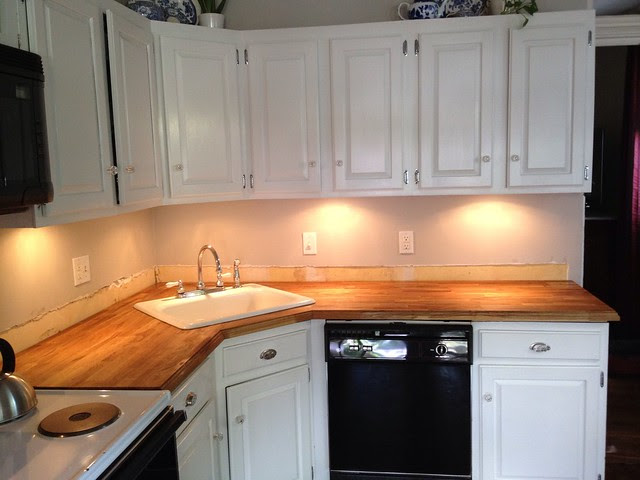 Stick a Fork in Them: The IKEA Butcher Block Counters are Done ...