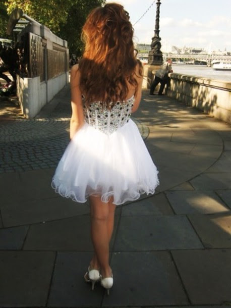Short evening dress tumblr