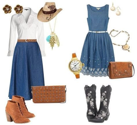 Western Themed Guest Outfit Ideas   Gold Cup Polo 2015