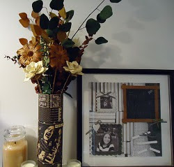 Recycled Floral Home Decor | FaveCrafts.