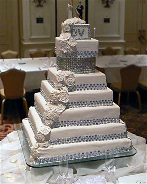 Total Bling Swarovski Crystal Initial Wedding Cake Toppers