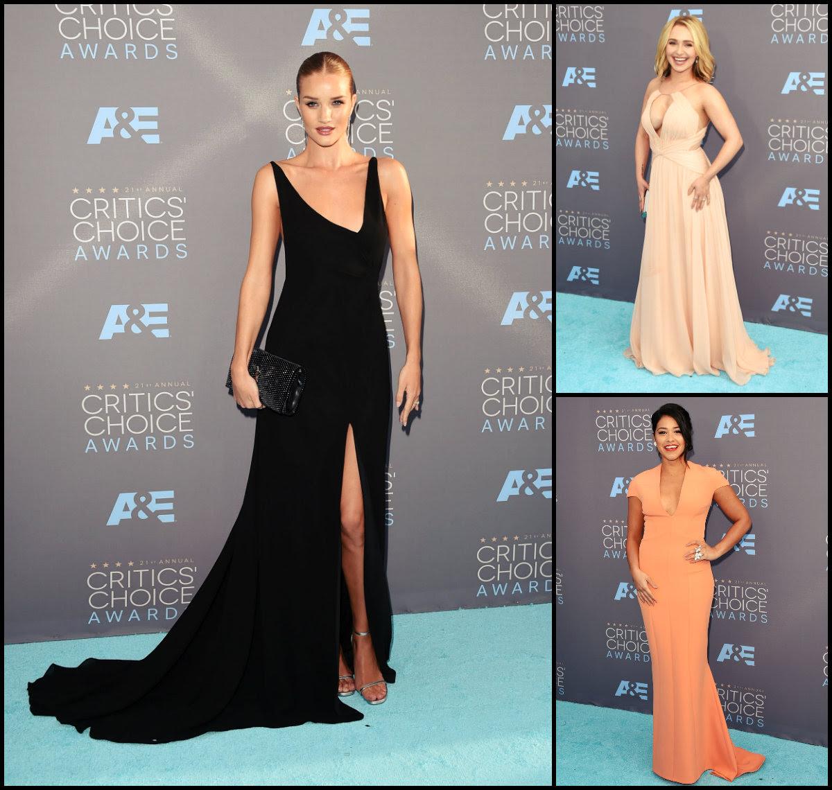 Critics Choice Awards 2016 Hairstyles Long Hairstyles