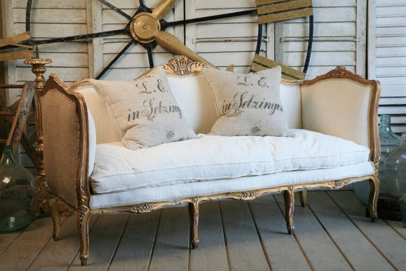 Vintage Settee Daybed Sofa