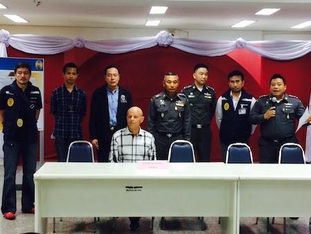 Luís Batle Vilaseca detendio en Tailandia