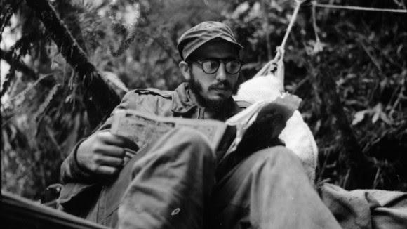 Fidel Castro en la Sierra Maestra, en 1958.