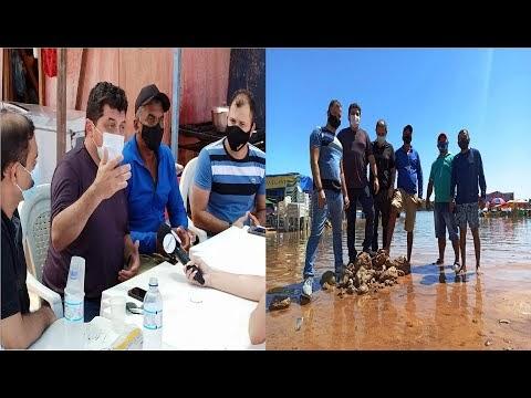 Câmara Municipal de Imperatriz busca , solução para repor areia na praia do cacau.