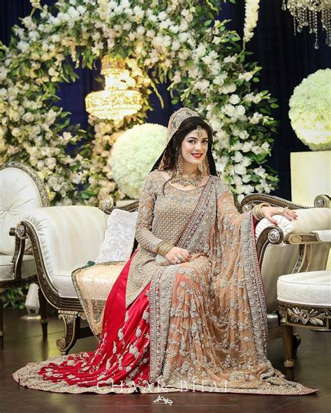 Pakistani Bridal Dresses 2018   Latest Mehndi, Barat