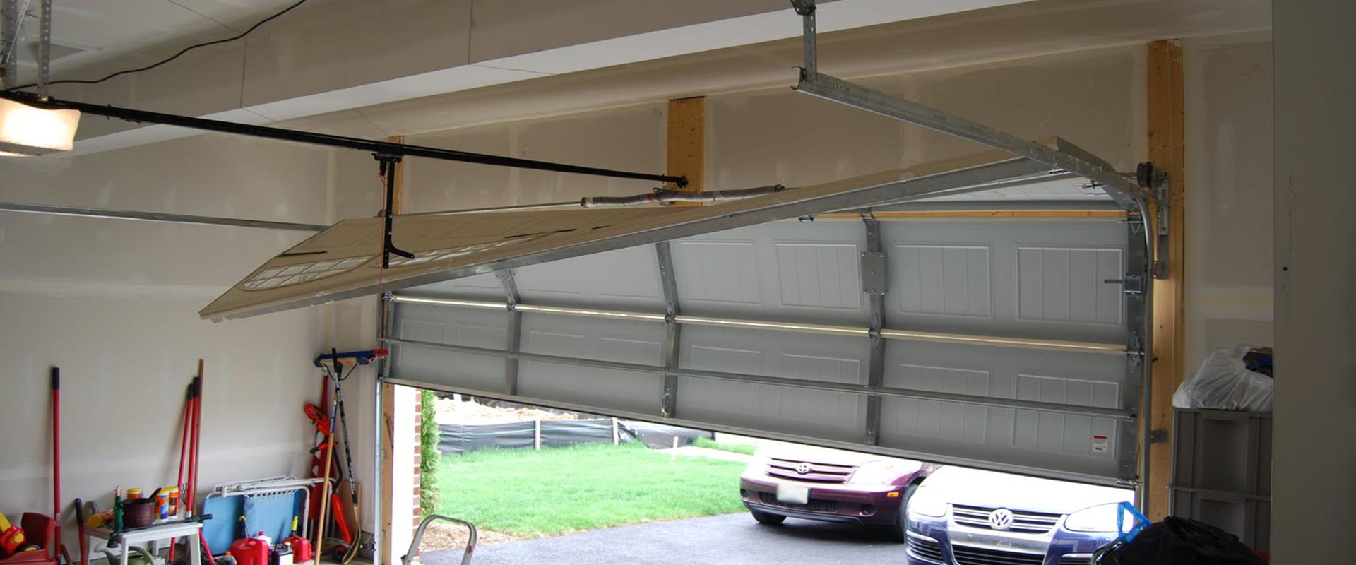 off track garage door repair emergency