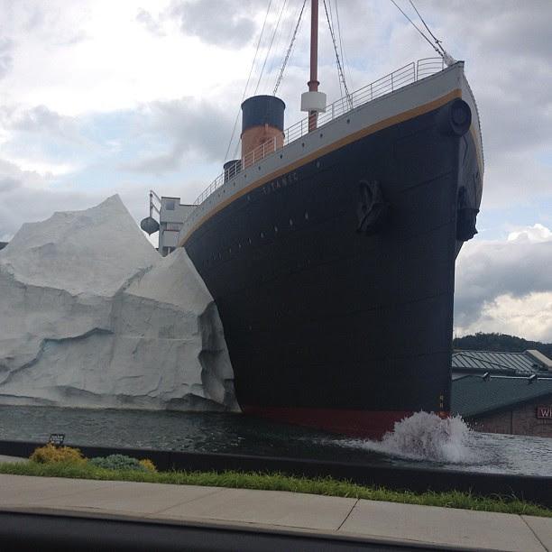 Titanic museum #nofilter