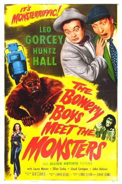 Leo Gorcey Huntz Hall Bowery Boys