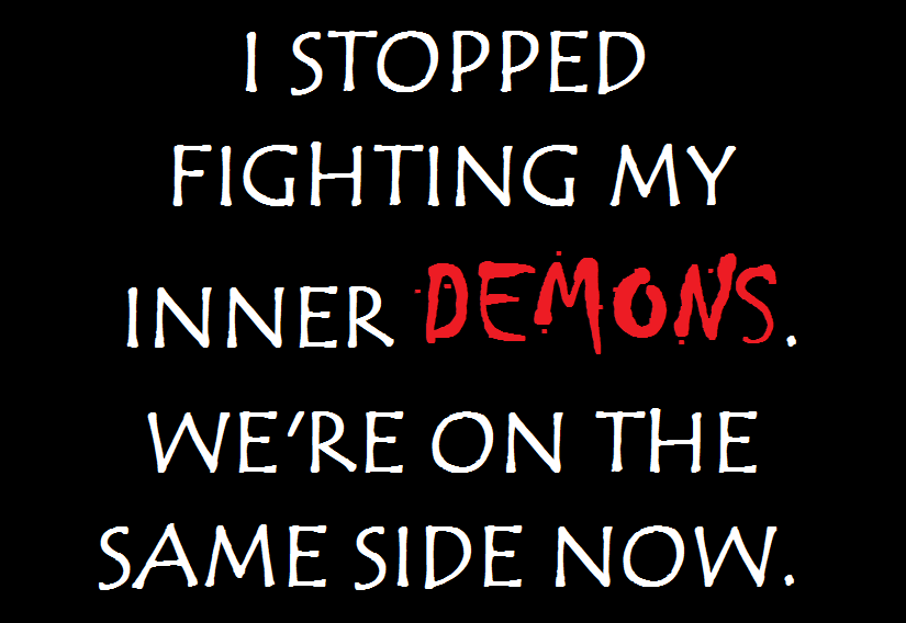 Quotes About Inner Demons 28 Quotes