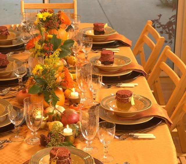 15 Thanksgiving Table Decoration Ideas   Home Design, Interior ...