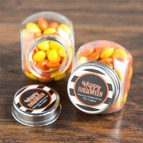 Personalized Candy Jars, Holiday Candy Jars