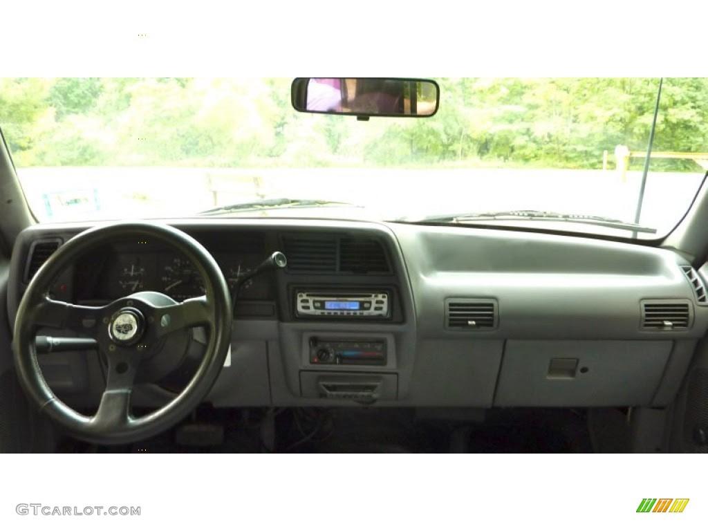 1994 Ford Ranger XL Regular Cab Grey Dashboard Photo #70343529 ...
