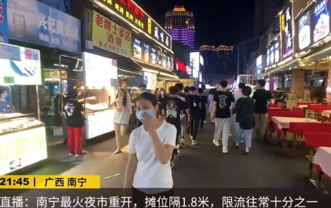 Mercado chino famoso por su «festín de insectos fritos» reabre tras la pandemia mortal